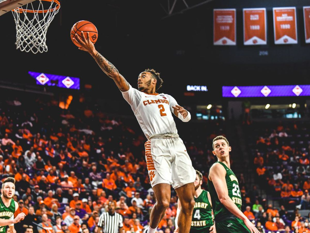Reed scores 24 to lead Clemson over Wright St. 75-69 in NIT