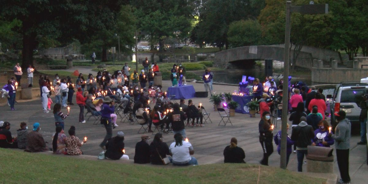 'Judy has touched so many lives': Loved ones, community members gather to hold vigil for Judy Williams