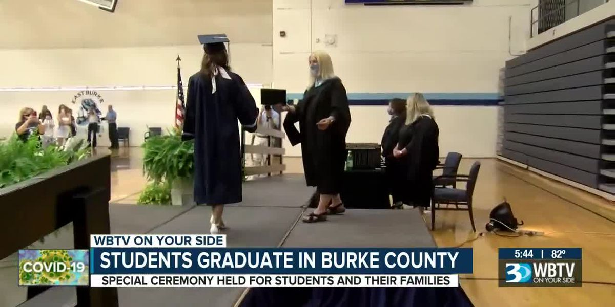 Students graduate in Burke County