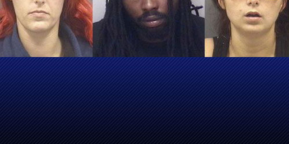 More charges for trio accused of Sunday crime spree
