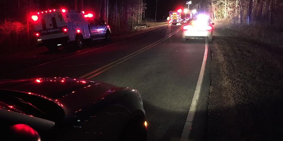 One killed, two injured in head-on two-vehicle crash in Gaston County