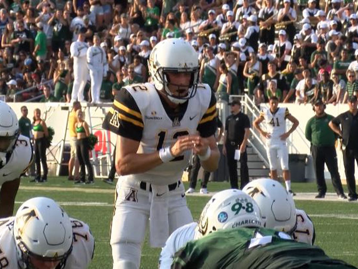 App State QB Zac Thomas named Sun Belt Conference Offensive Player of the Week