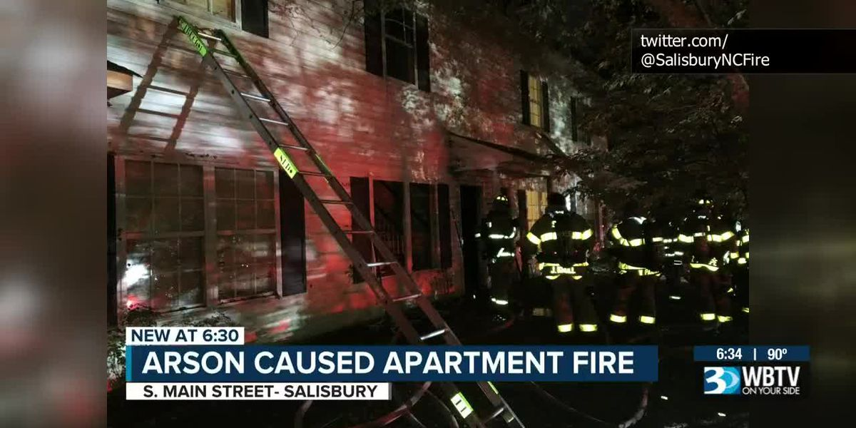Salisbury fire under investigation