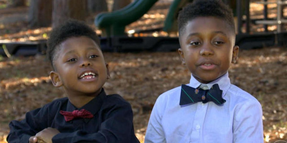 Young brothers give back amid success of bowtie business