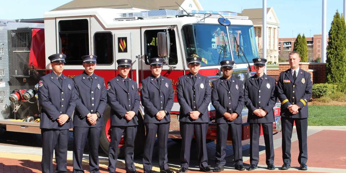 Kannapolis Fire Department graduates new class of firefighters