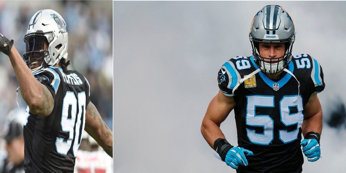 Panthers legends Peppers, Kuechly named to NFL's 2010s All-Decade team