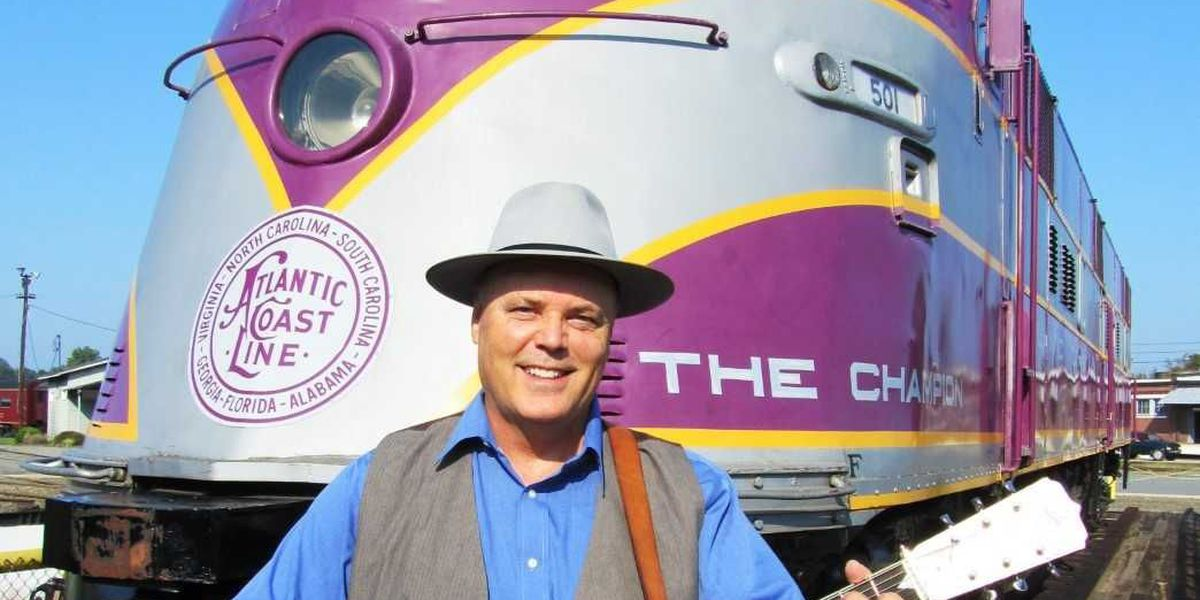 Musician David Holt to perform live with Josh Goforth at the N.C. Transportation Museum Aug. 3