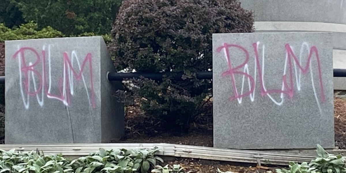 Arthur Ashe monument in Richmond vandalized
