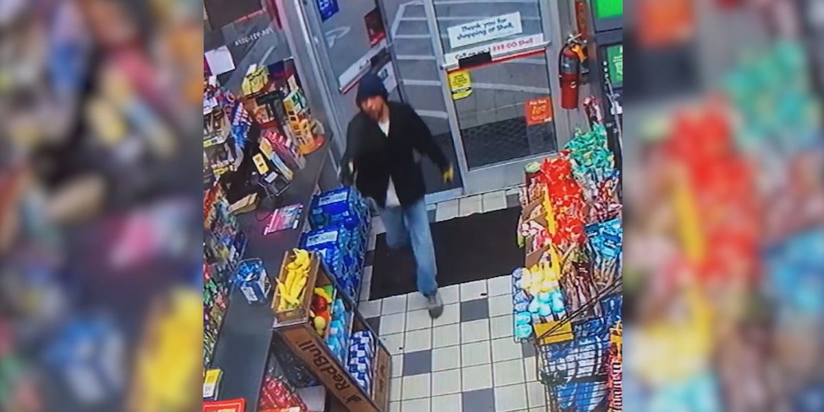 Crime Stoppers: Police looking for man who robbed north Charlotte convenience store at gunpoint