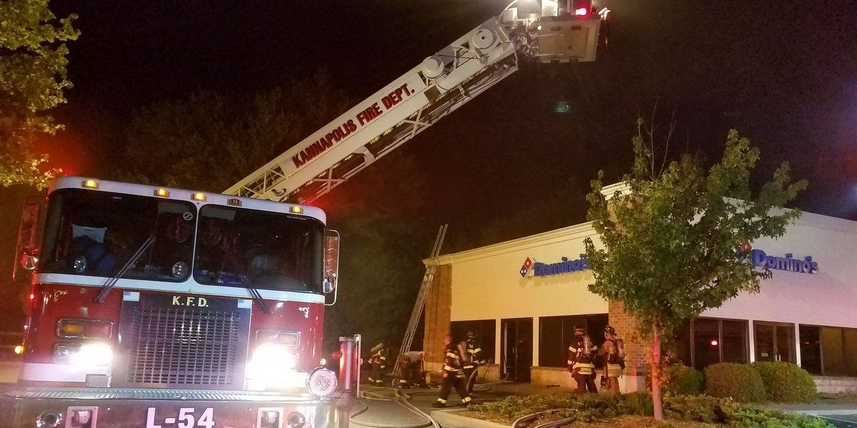 Kannapolis Domino's fire under investigation