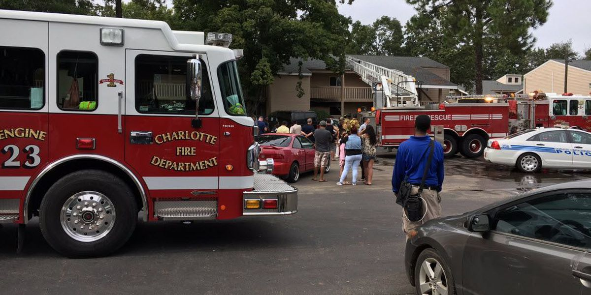 Flames quickly knocked down at apartment fire in east Charlotte