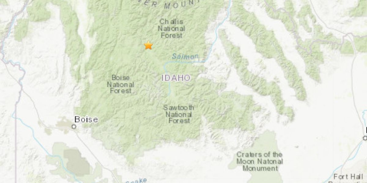M6.5 earthquake recorded in southern Idaho