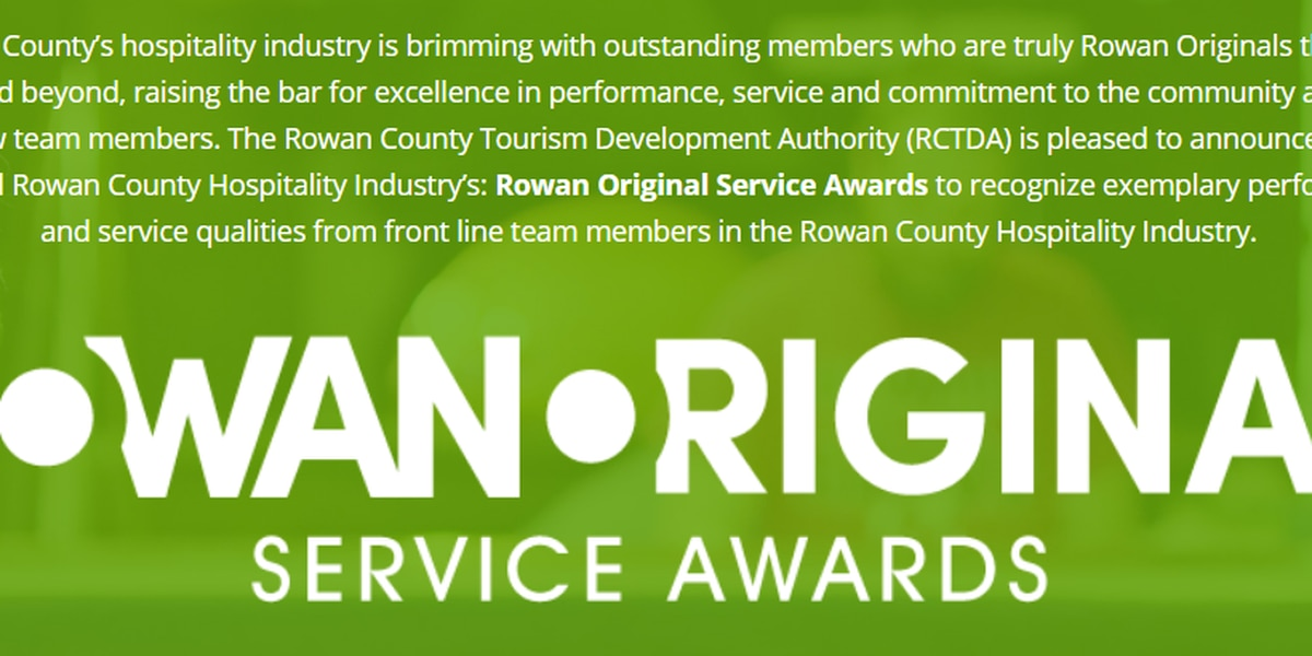 Who's the best at hospitality and service in Rowan? You can nominate your favorites