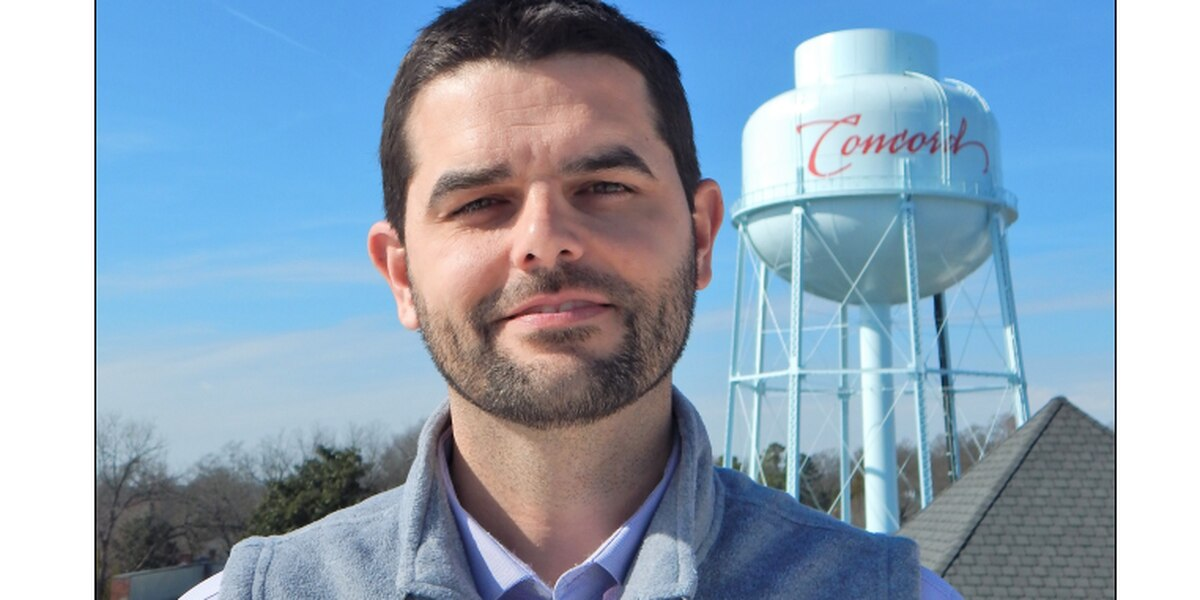 Jeff Corley named City of Concord Water Resources Director