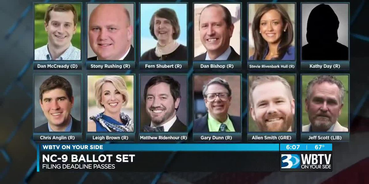 Filing for NC-09 over with 10 Republican candidates, McCready sole Democrat