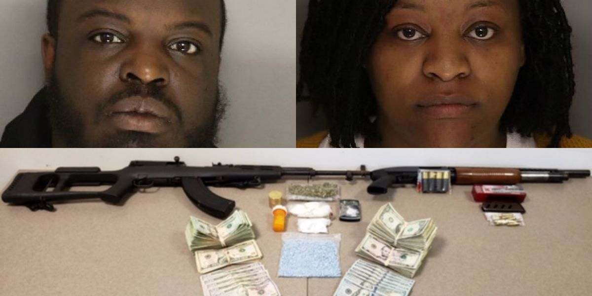 Shots fired at SWAT as authorities seize drug and guns, arrest two in Lancaster County