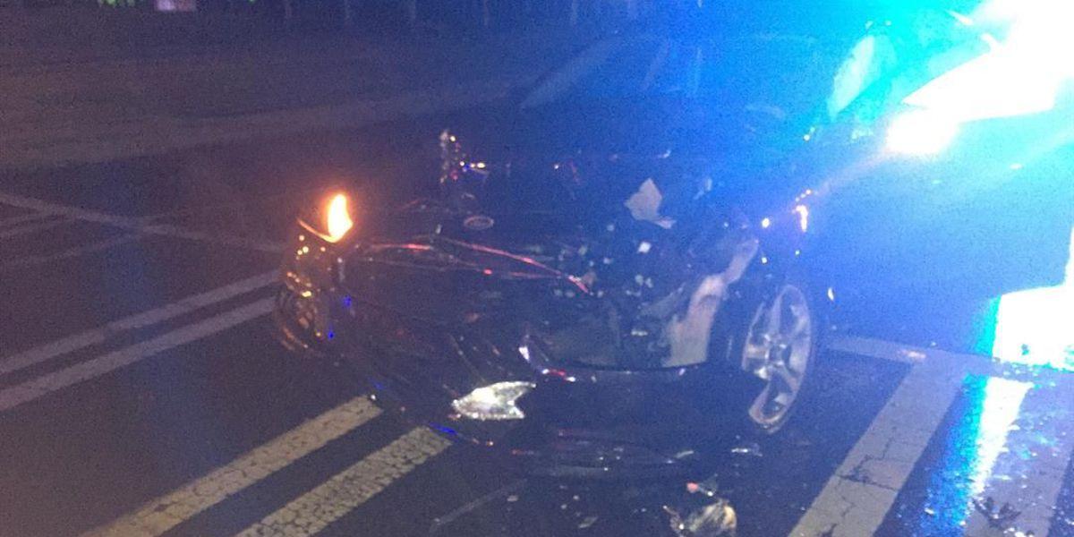 No one injured in Ballantyne wreck