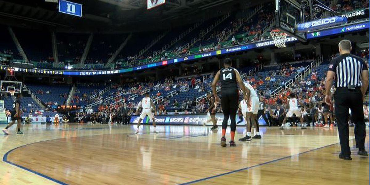 Only essential staff and limited family at NCAA tournaments