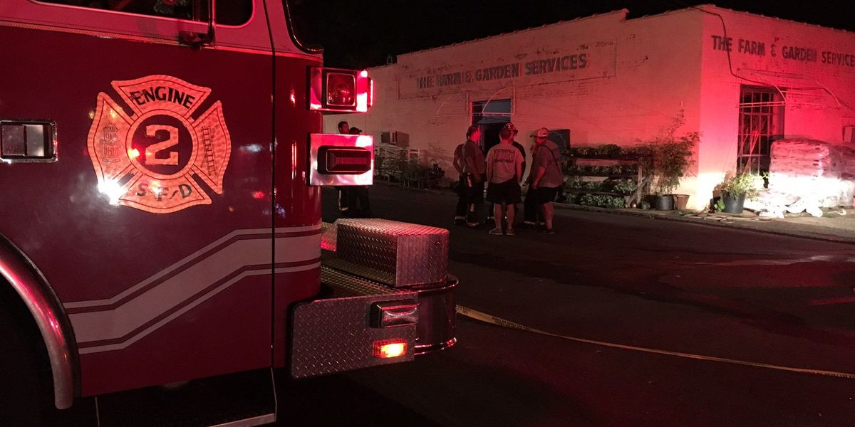 Fire sparks, damages Statesville business