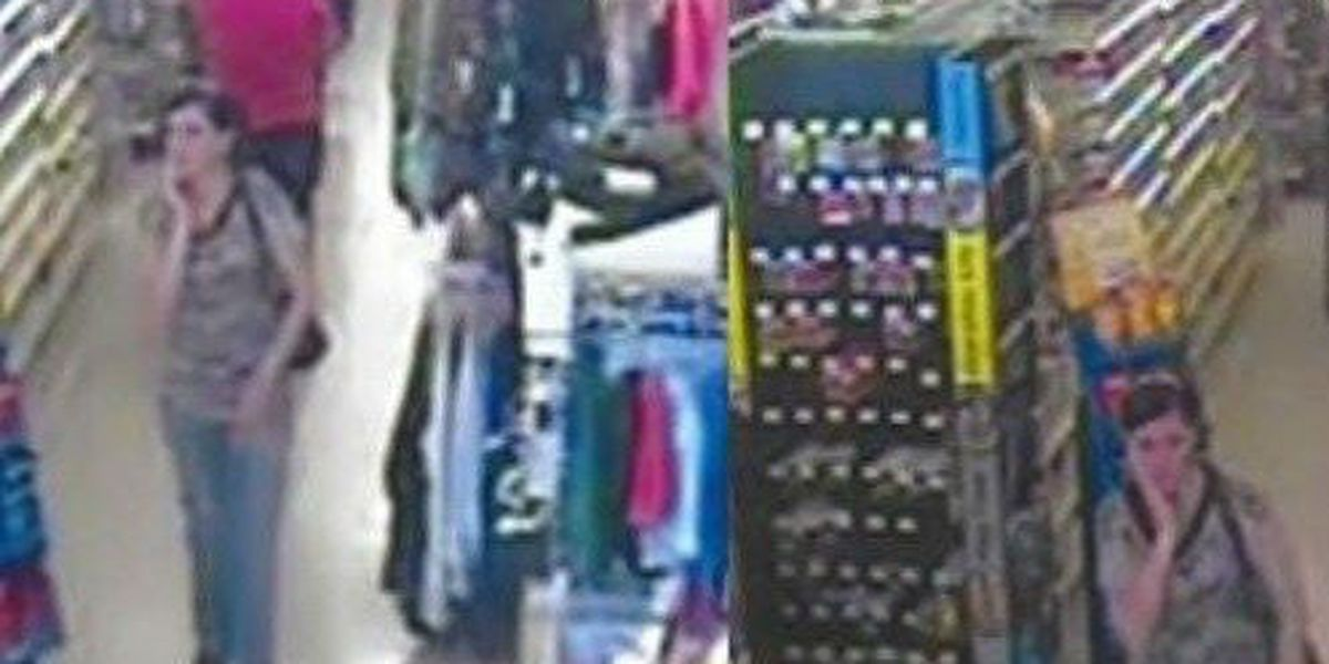Thief wanted for stealing from Iredell Co Dollar General
