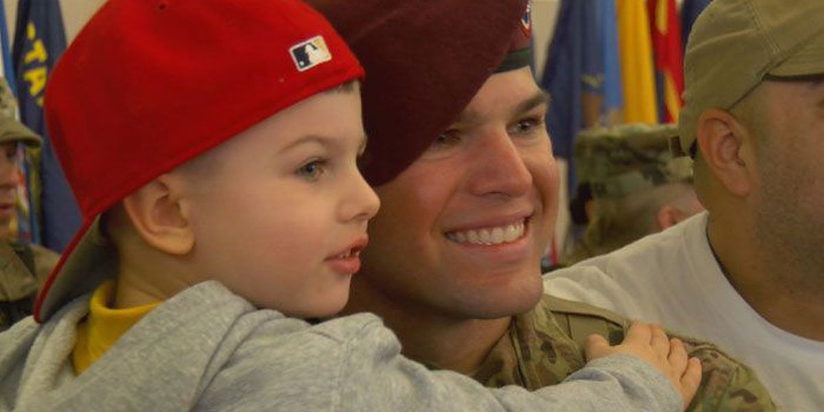 More than 100 Fort Bragg paratroopers return home