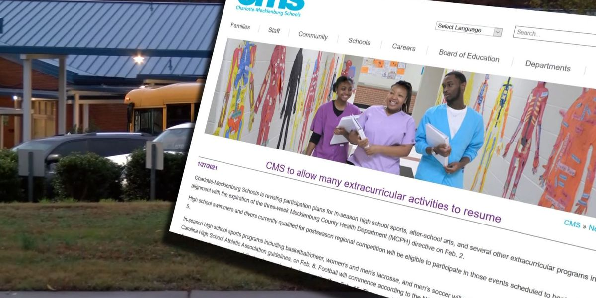 Students, parents react to news some CMS extracurricular activities will resume