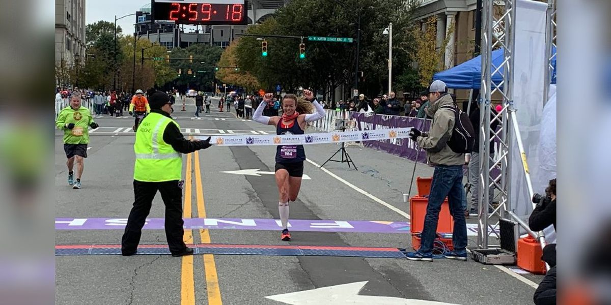 In his first time going 26.2, local man takes field by surprise to win Charlotte Marathon