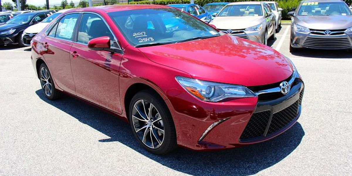 Get to know the 2017 Toyota Camry!