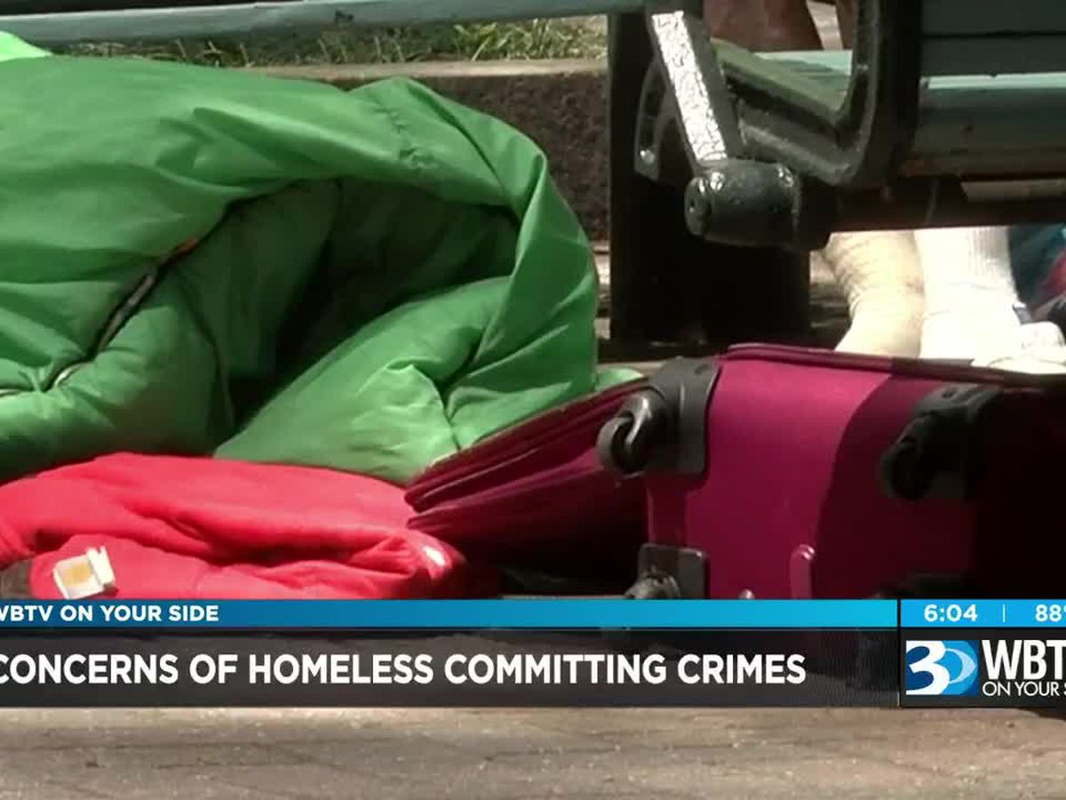Concerns about crimes being committed in uptown Charlotte by people who are homeless
