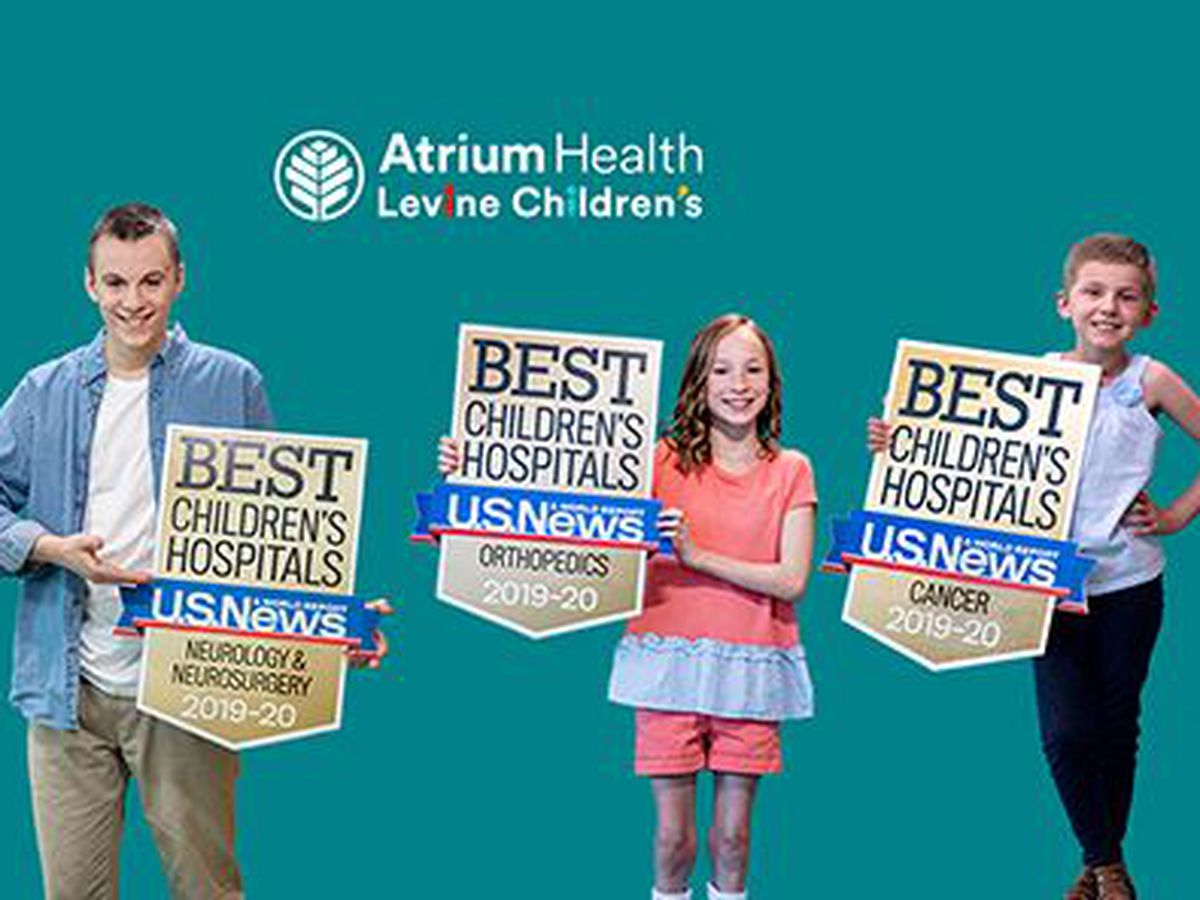 Charlotte's Levine Children's makes national list of best children's hospitals