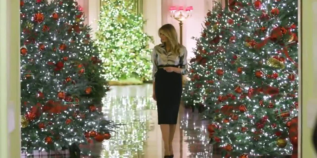 White House decked out for holidays