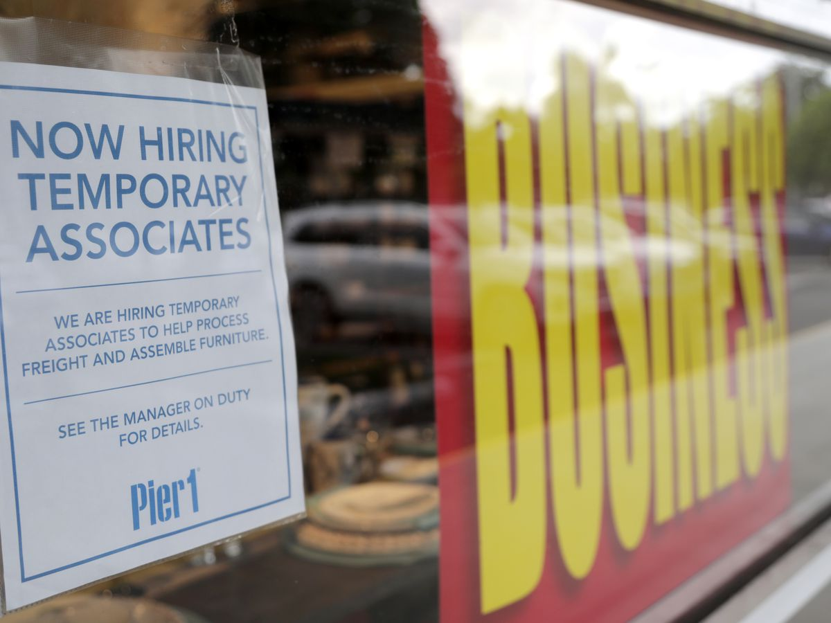 US adds 1.8 million jobs in a sign that hiring has weakened