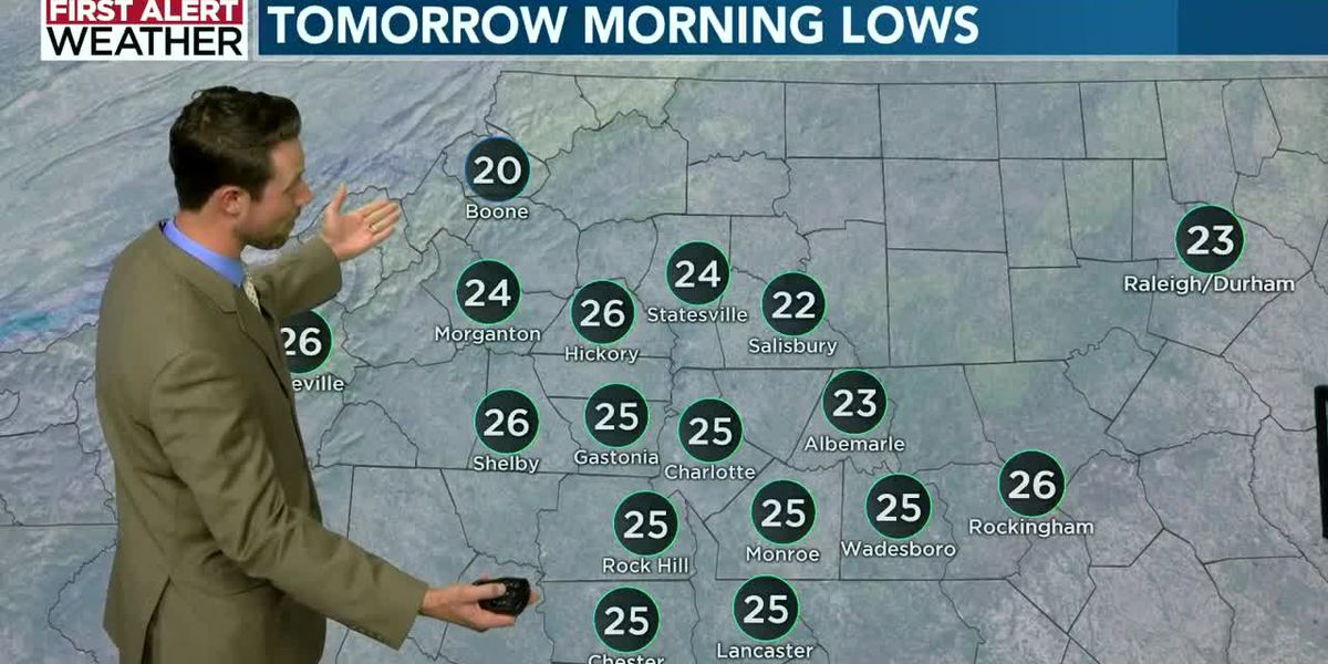Jason Myers Saturday evening forecast