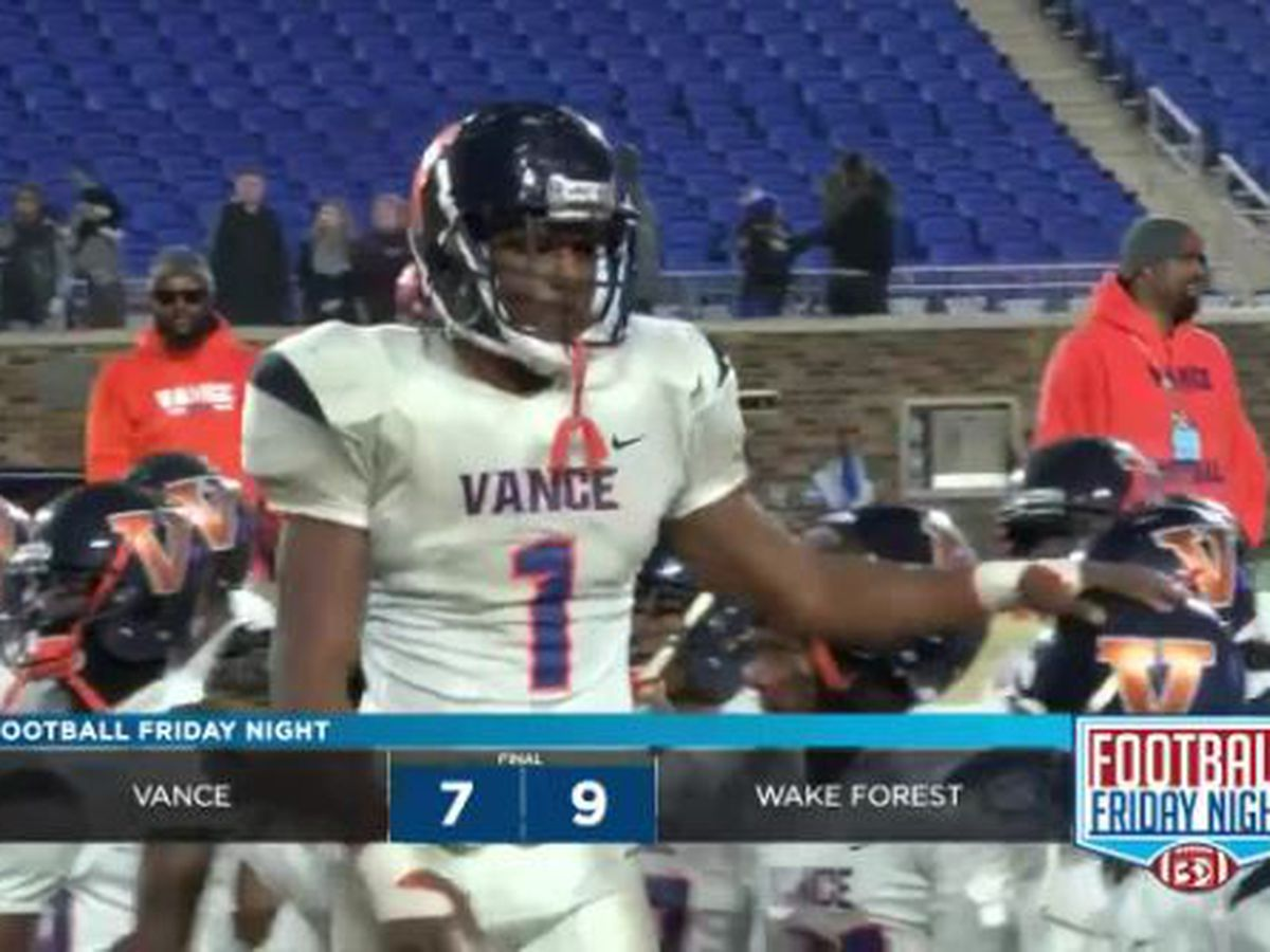 4AA State Championship: Wake Forest vs Vance