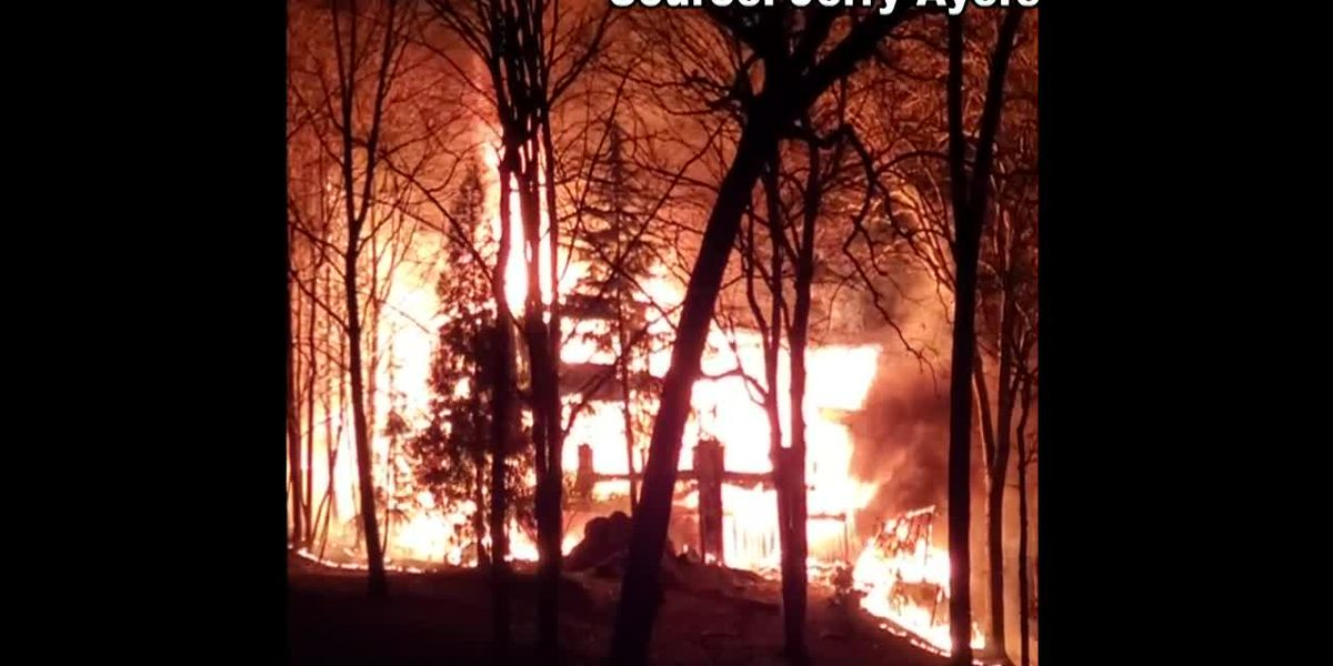 Two-alarm fire destroys house on Lake Norman, 3 people displaced