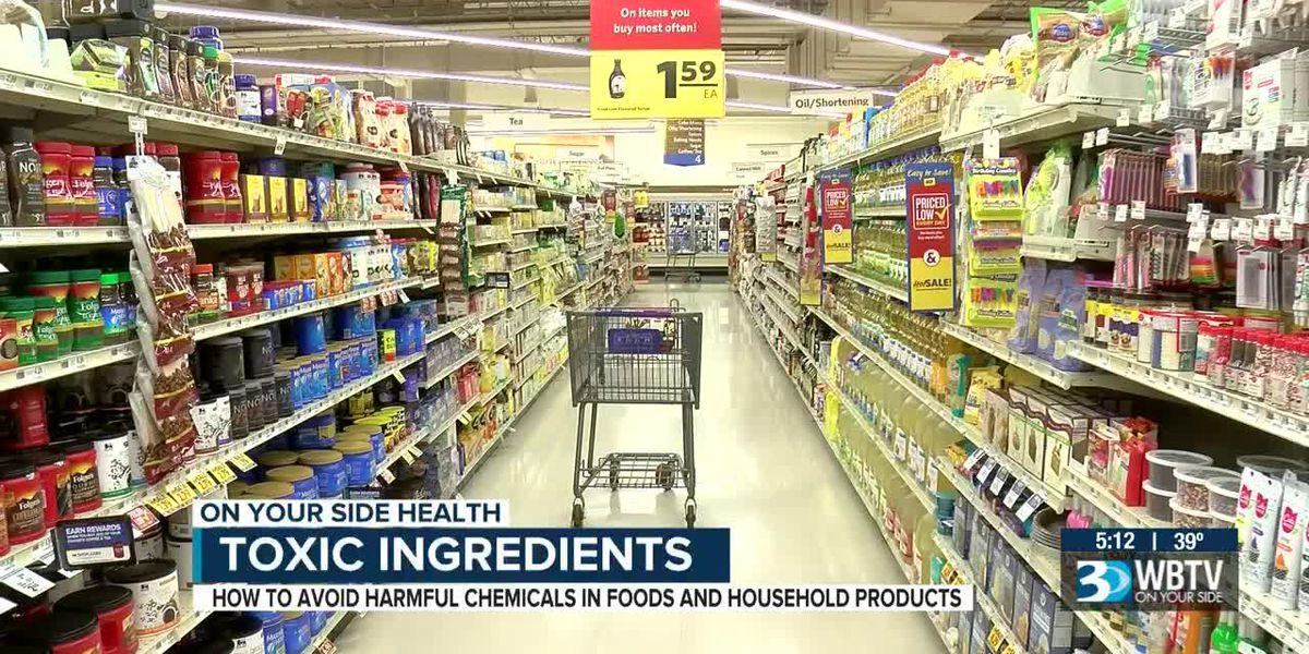 How to avoid harmful chemicals in foods, household products