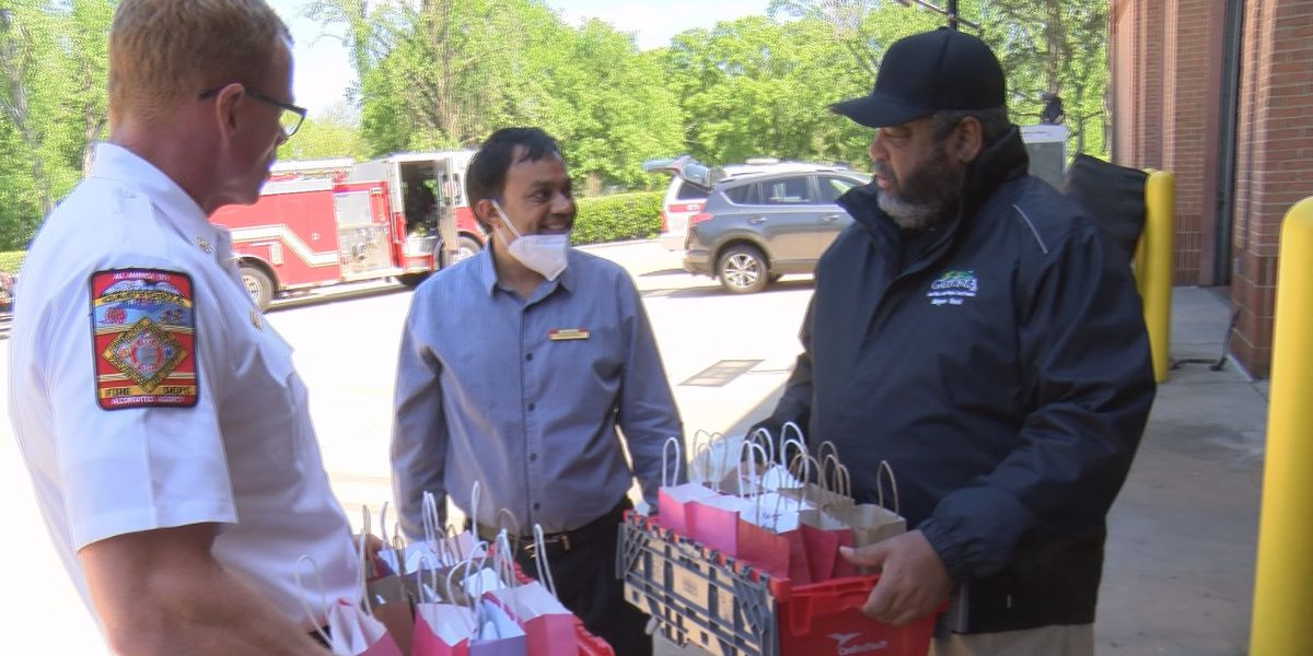 Gastonia pharmacist donates COVID-19 safety supplies to police, firefighters
