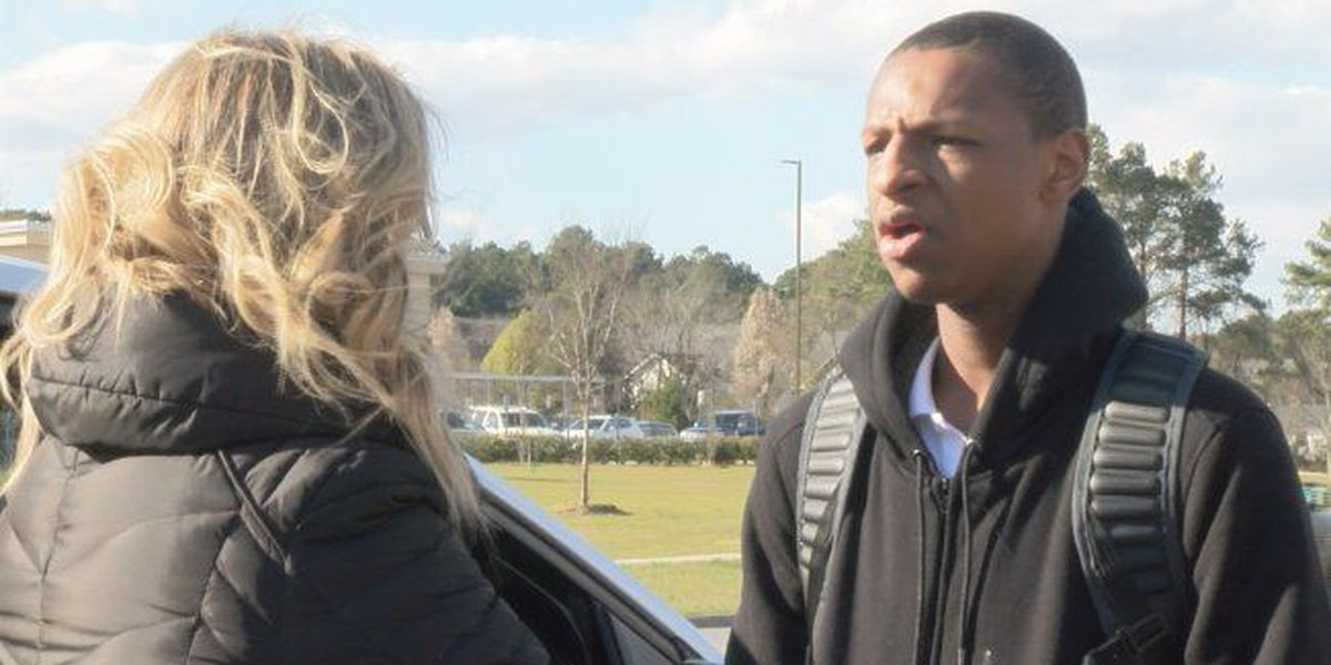 Teen is lone student to walk out at Wilson school