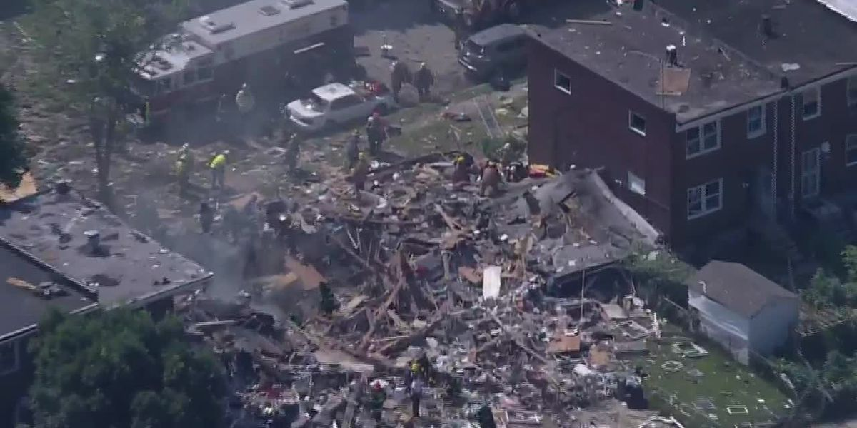 Explosion rips through Baltimore neighborhood