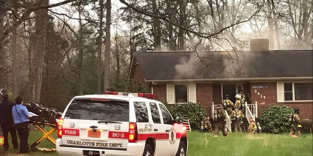 West Charlotte home catches fire, suffers $150,000 of damage