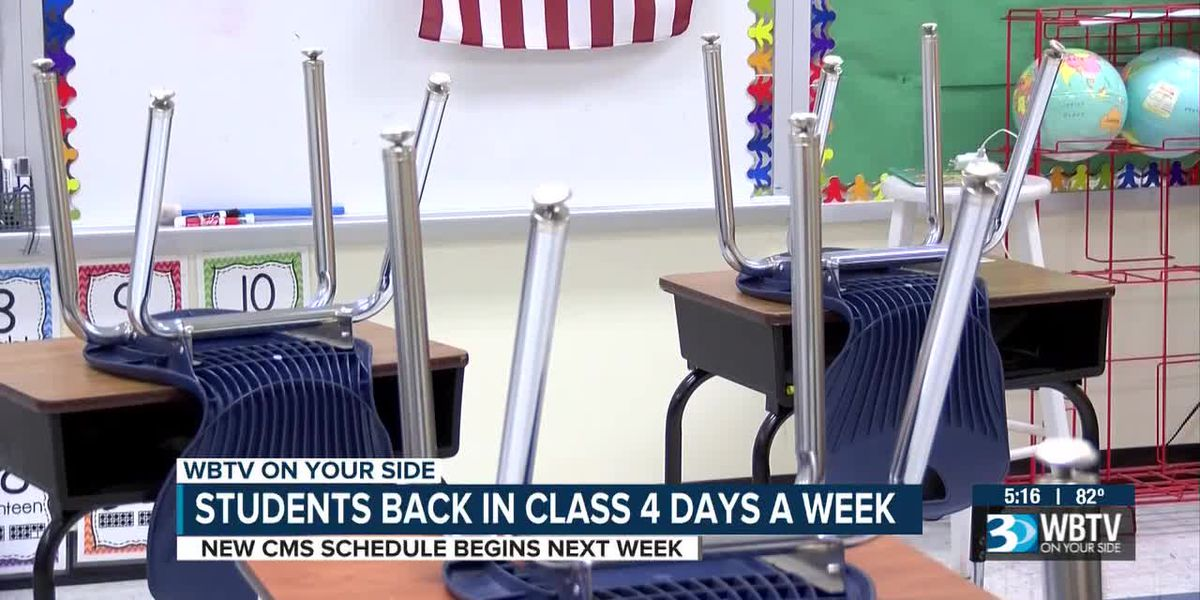 Charlotte students soon back in class four days a week