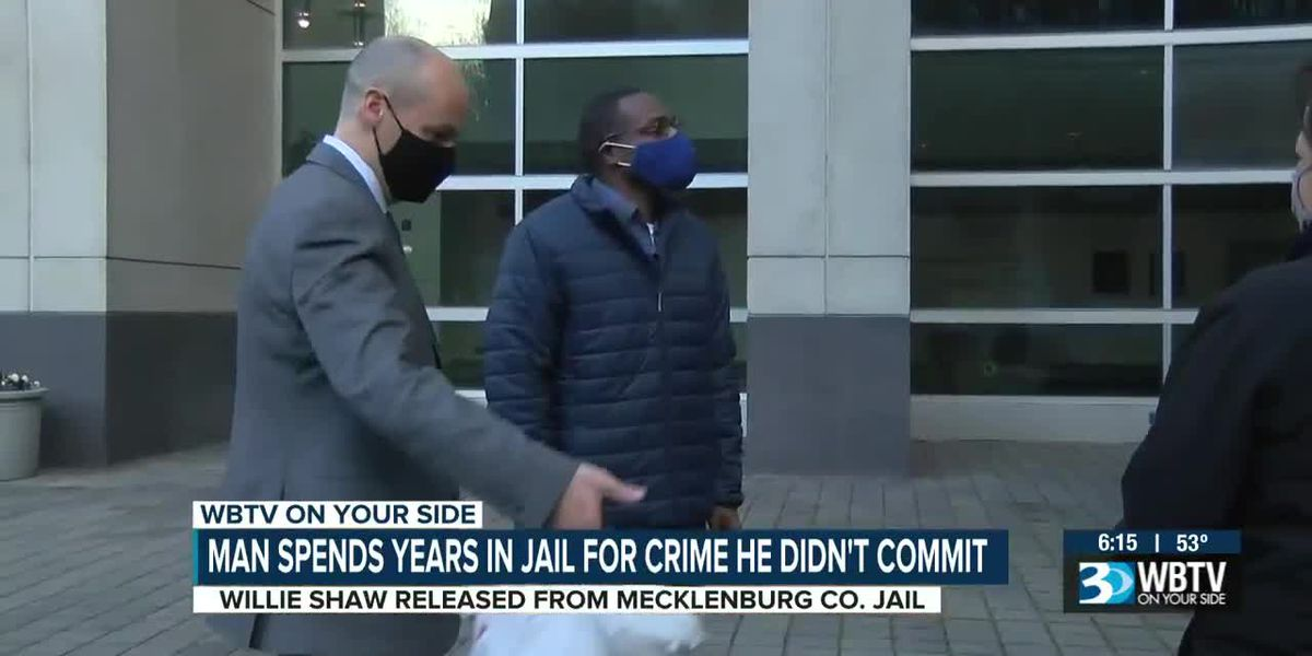 Man released after spending years in jail for crime he didn't commit
