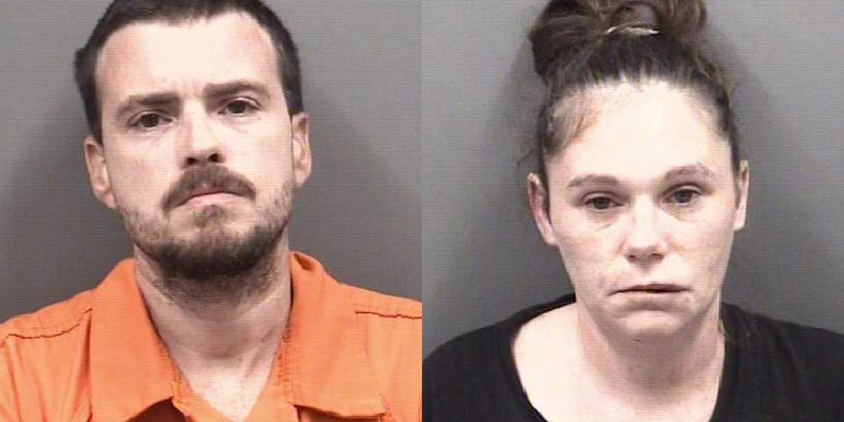 Rowan County couple charged, accused of leaving two infants in running car