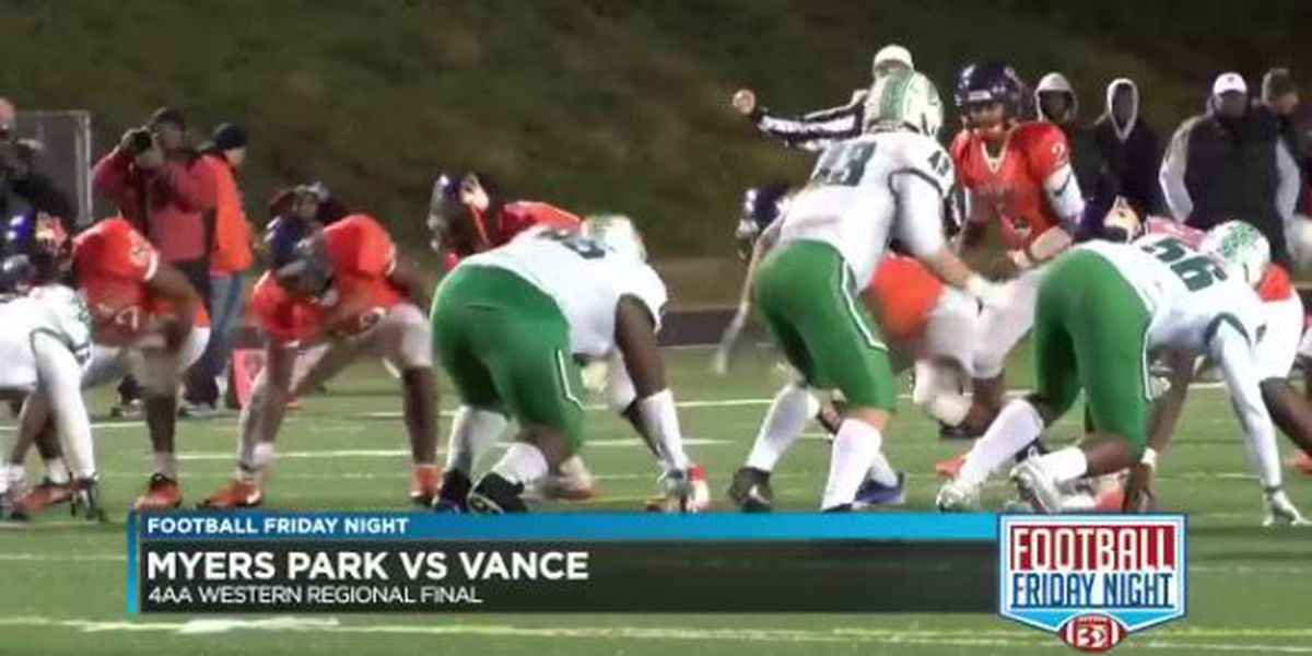 Vance beats Myers Park to win the 4AA Western Regional Final