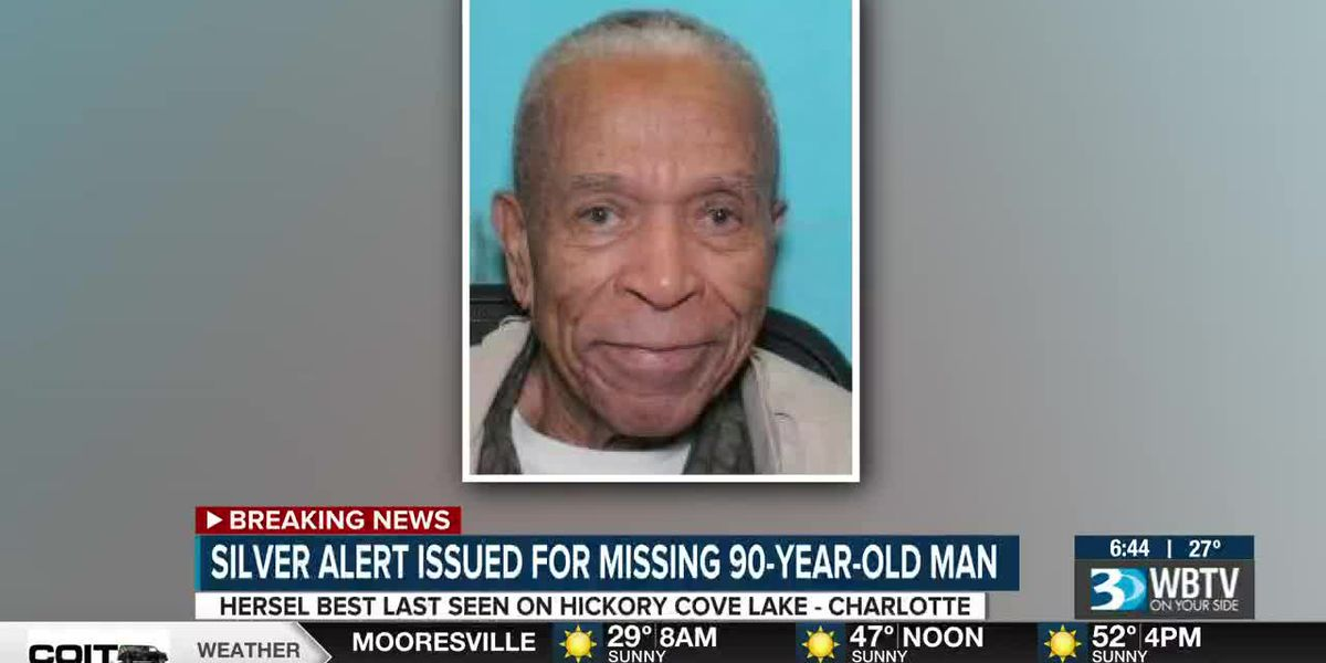 Silver Alert issued for missing 90-year-old man in Charlotte