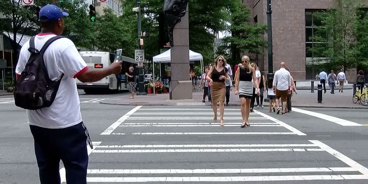 Have you seen the 'Jesus Saves Guy' in uptown Charlotte? Here's his story.