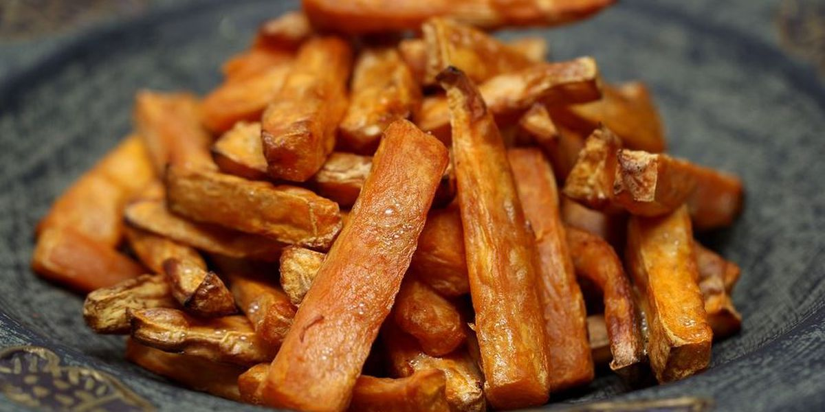 Roasted Sweet Potatoes with Burnt Honey & Thyme from Stoke Charlotte