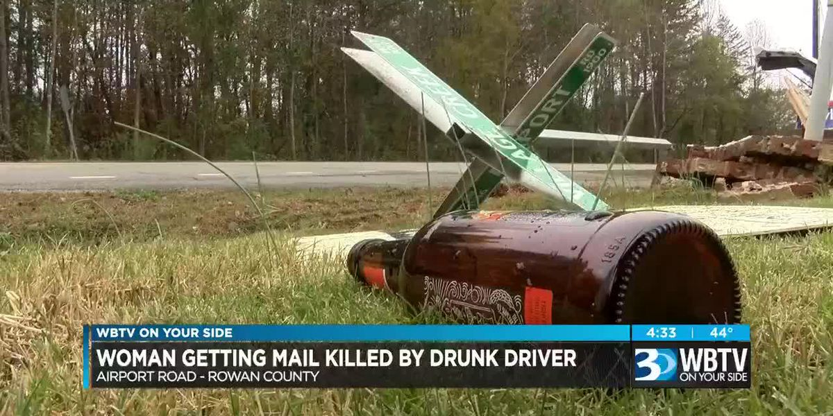 Woman getting mail killed by alleged drunk driver