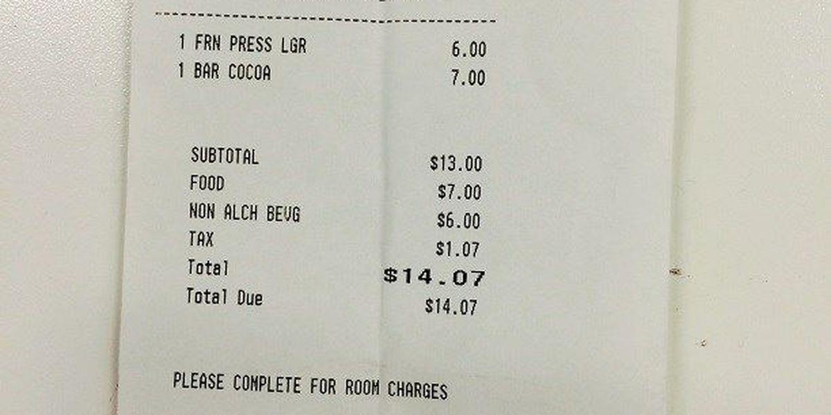 No NCAA surcharge at Ritz-Carlton, hotel responds