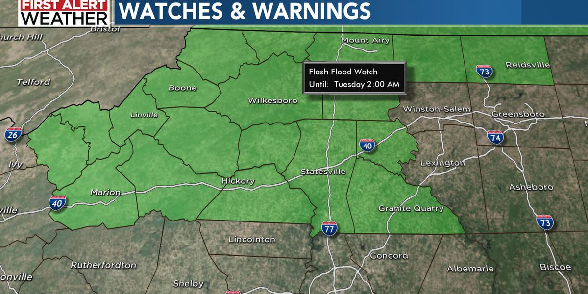 First Alert: More downpours to bring risk for flooding